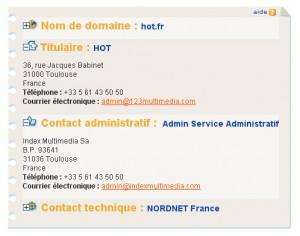 whois de hot.fr le 14/12/2009